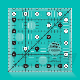 Creative Grids Quilt Ruler 5 1/2 Inch Square