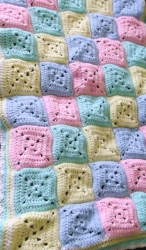 Baby blanket by L KB