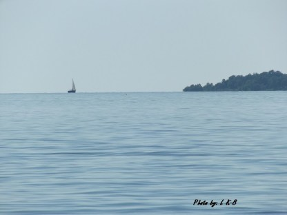 sailing on Lake Erie