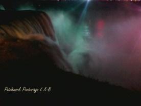 American Falls Illiuminated