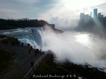 Brink of Niagara Falls U.S. side