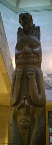 smiling totem at ROM