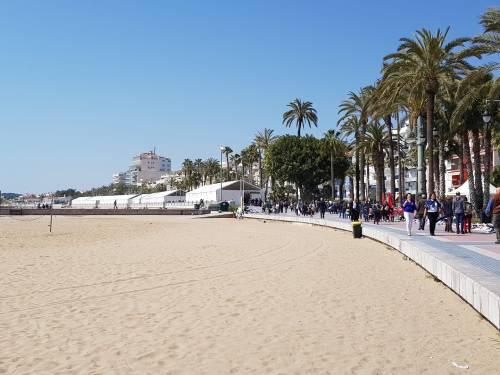 El tsunani patchwork en Sitges