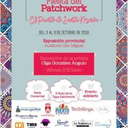 Cartel de la Feria de Patchwork del Puerto de Santa María