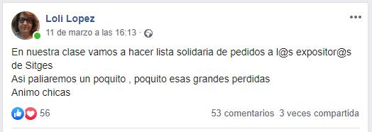 Publicación Loli López