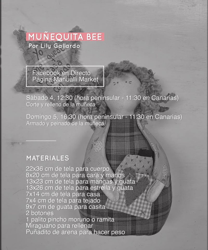 Materiales Muñequita Bee
