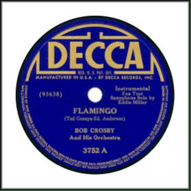 Decca Blue Block Lettering