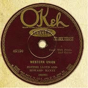 Okeh Record Label early 1920s: The label design changed to a flowing script. Some early scripted designs still retained the Indian Head logo