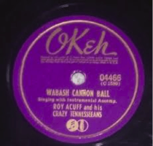 "Record Label: 1938. Notice the CBS ""Notes and Mic"" label at the bottom. Suggesting record was produced after 1938 when Okeh was bought by CBS"