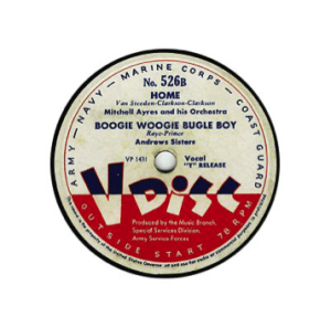 WWII V-Disc Label