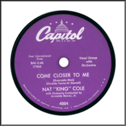 Capitol Records Post WW2 Unrimmed