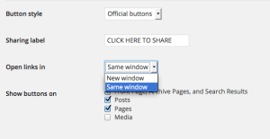 Window Screen Preference