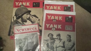 1944-1945: Yank and Newsweek
