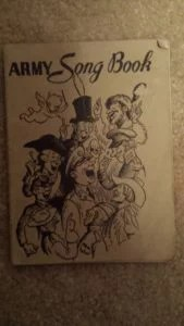 WW2 Army Song Book