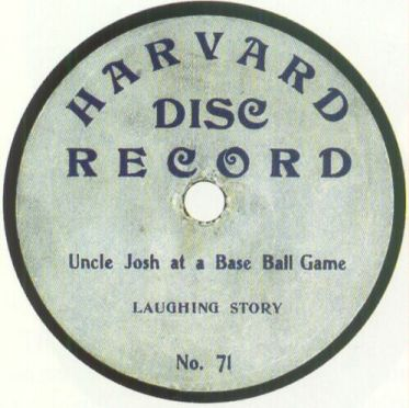 Harvard Disc Record. Courtesy of http://www.78rpm.net.nz