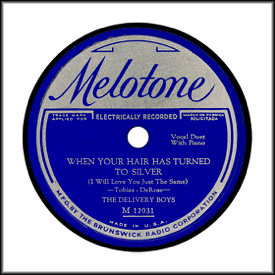 Record Label: Early label. Original silver on blue