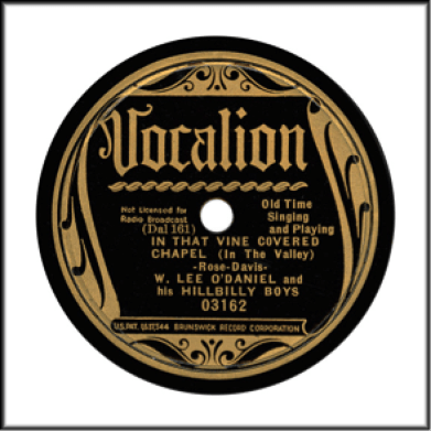 Record Label: 1935-1937. Glossy black.