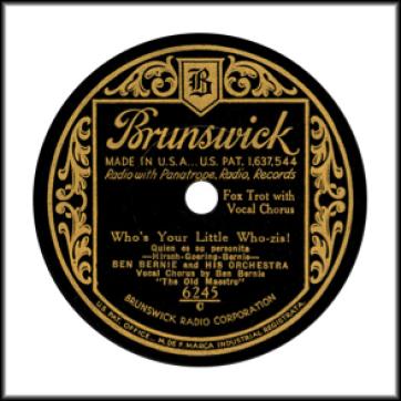 Brunswick 1928-1940