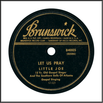 Brunswick 1944 Collectors Series by Decca Type 2