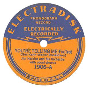 Electradisk Victor Budget Label