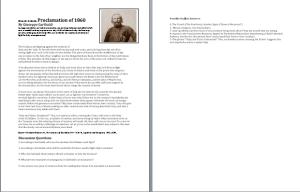 World History II Garibaldi Nationalism Speech