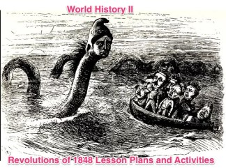 World History II Revolutions of 1848 Activities