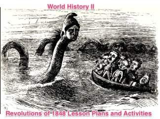 World History II Revolutions of 1848 Activities