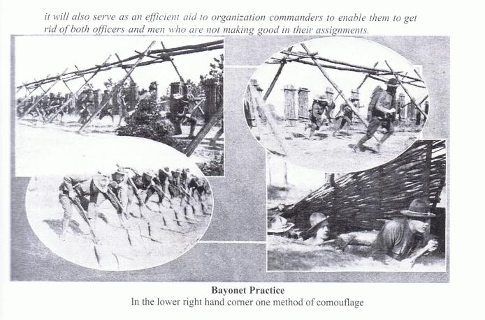 80th Bayonet Practice