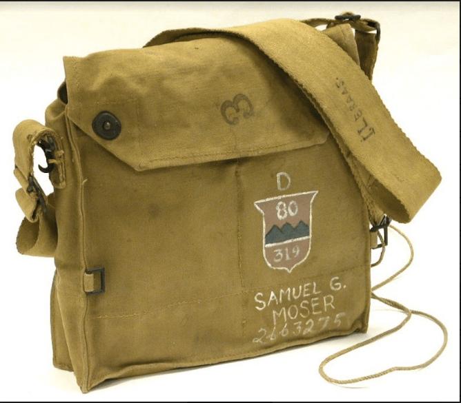 80th Gas Mask Bag