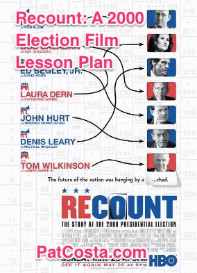 Recount 2000 Election Lesson Plan