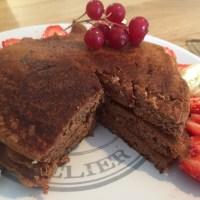 Healthy : Pancakes protéinés au chocolat