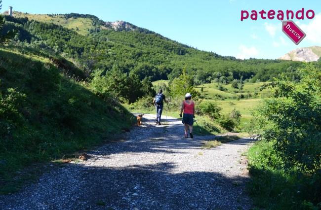 Subida al Pico Pazino