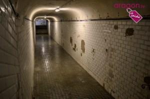 Túnel de acceso a la Estación de Canfranc en Huesca