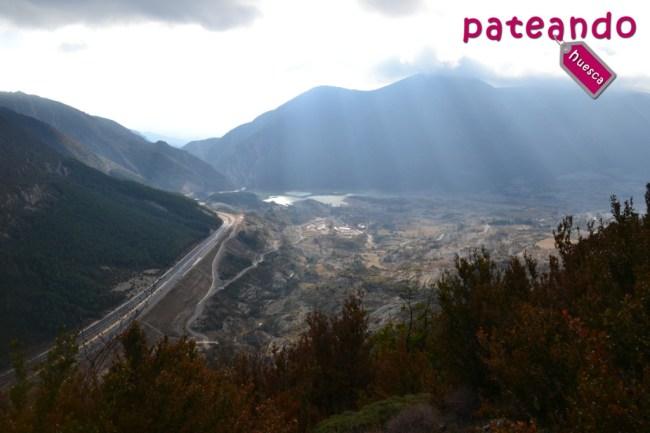 Vistas de la Sierra del Águila desde Bonés