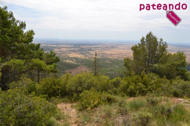 Vistas de la Hoya de Huesca