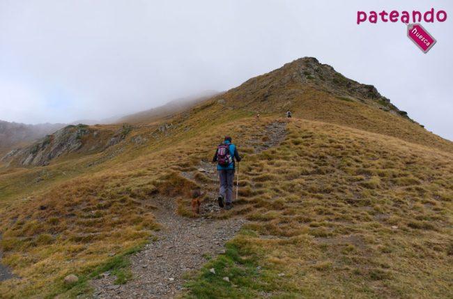 Desvío al Pico de los Monjes