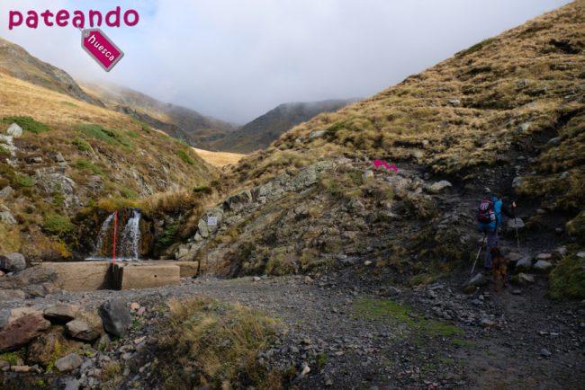 Fuente en Pico los Monjes