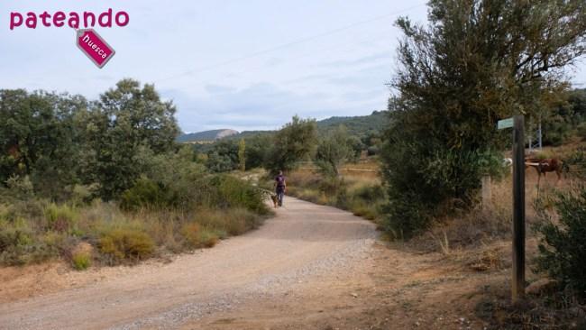 Inicio de la ruta a la Fuente de Tamara