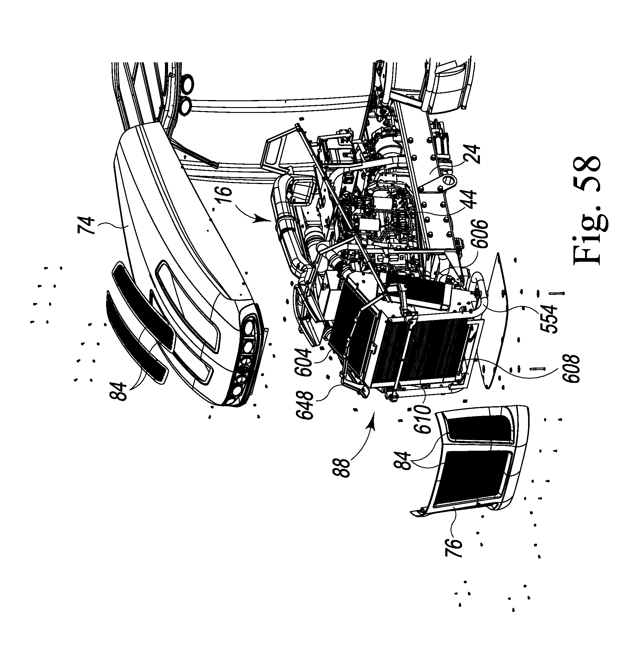 Us8490730b2 cooling system assembly for a crop sprayer patents