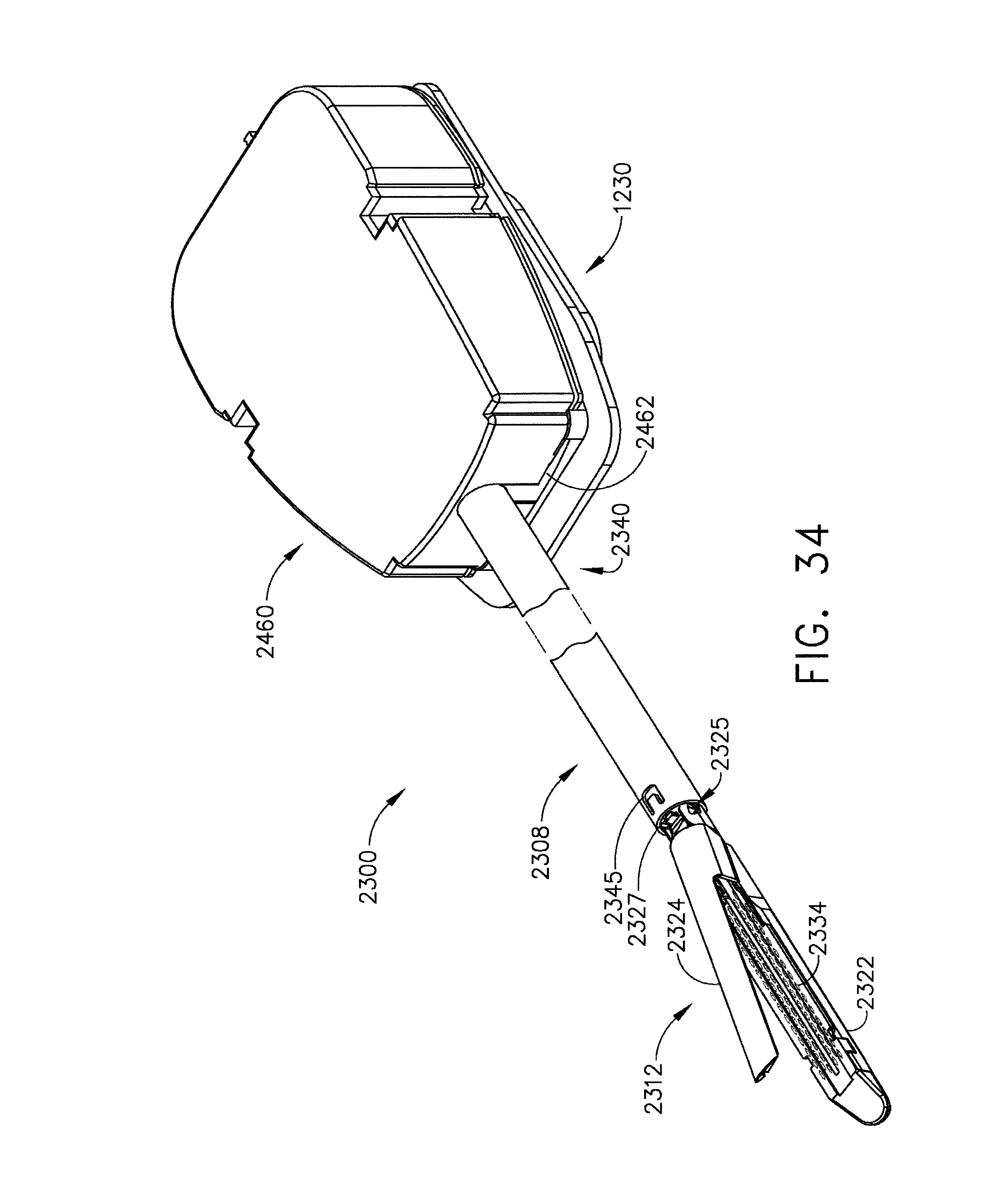 Us8998058b2 detachable motor powered surgical instrument patents