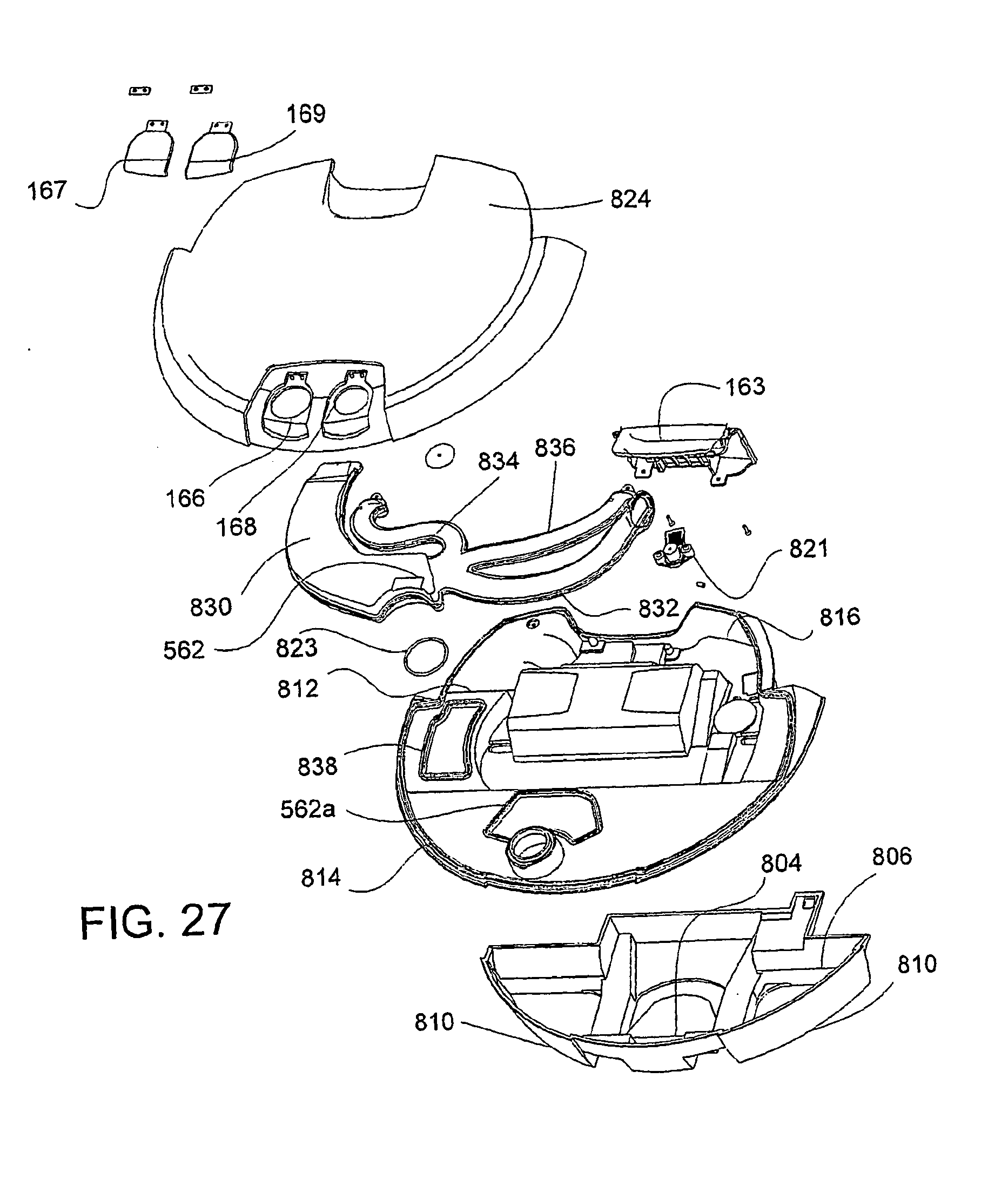 Ep2279686b1 autonomous surface cleaning robot for wet and dry cleaning patents