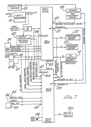 Patent EP0362969A2  Tachograph and vehicle speed control device  Google Patents