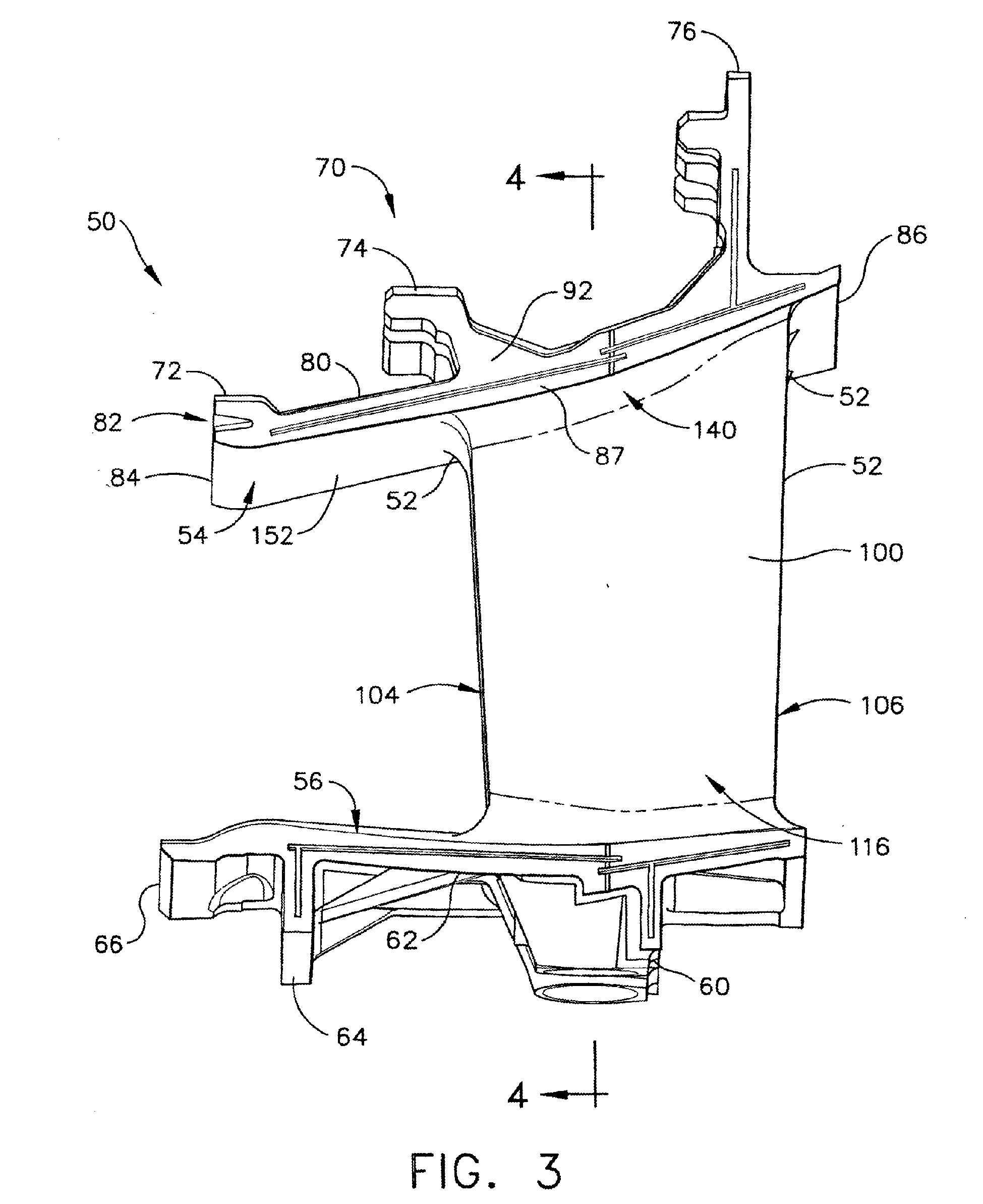 Patent ep b1 gas turbine nozzle and gas turbine engine