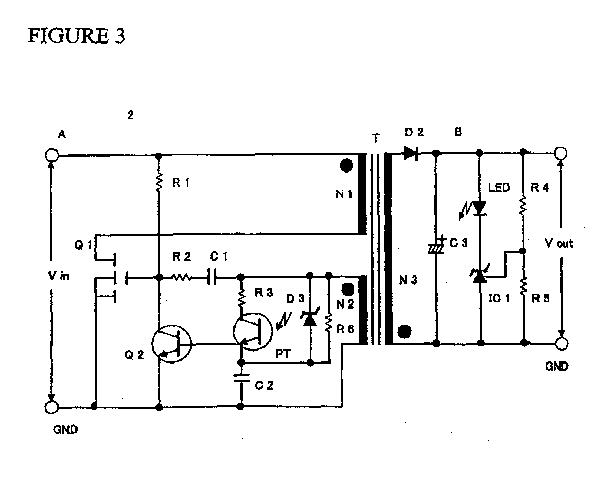 Flyback Transformer Diagram