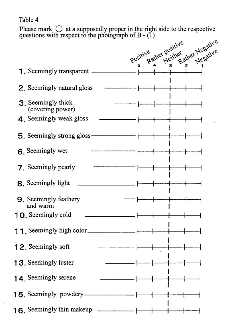 Makeup Questionnaire Saubhaya