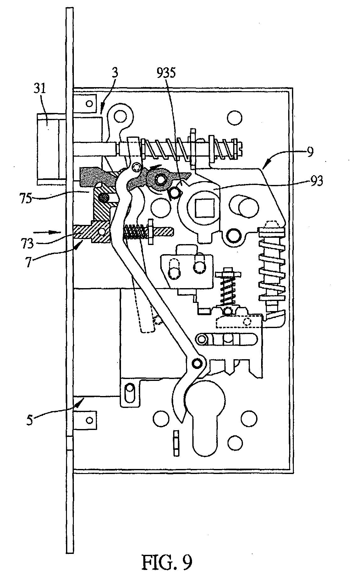 Yale Mortise Lock Diagram