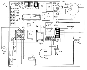 Patent US20040230402  Integrated furnace control board