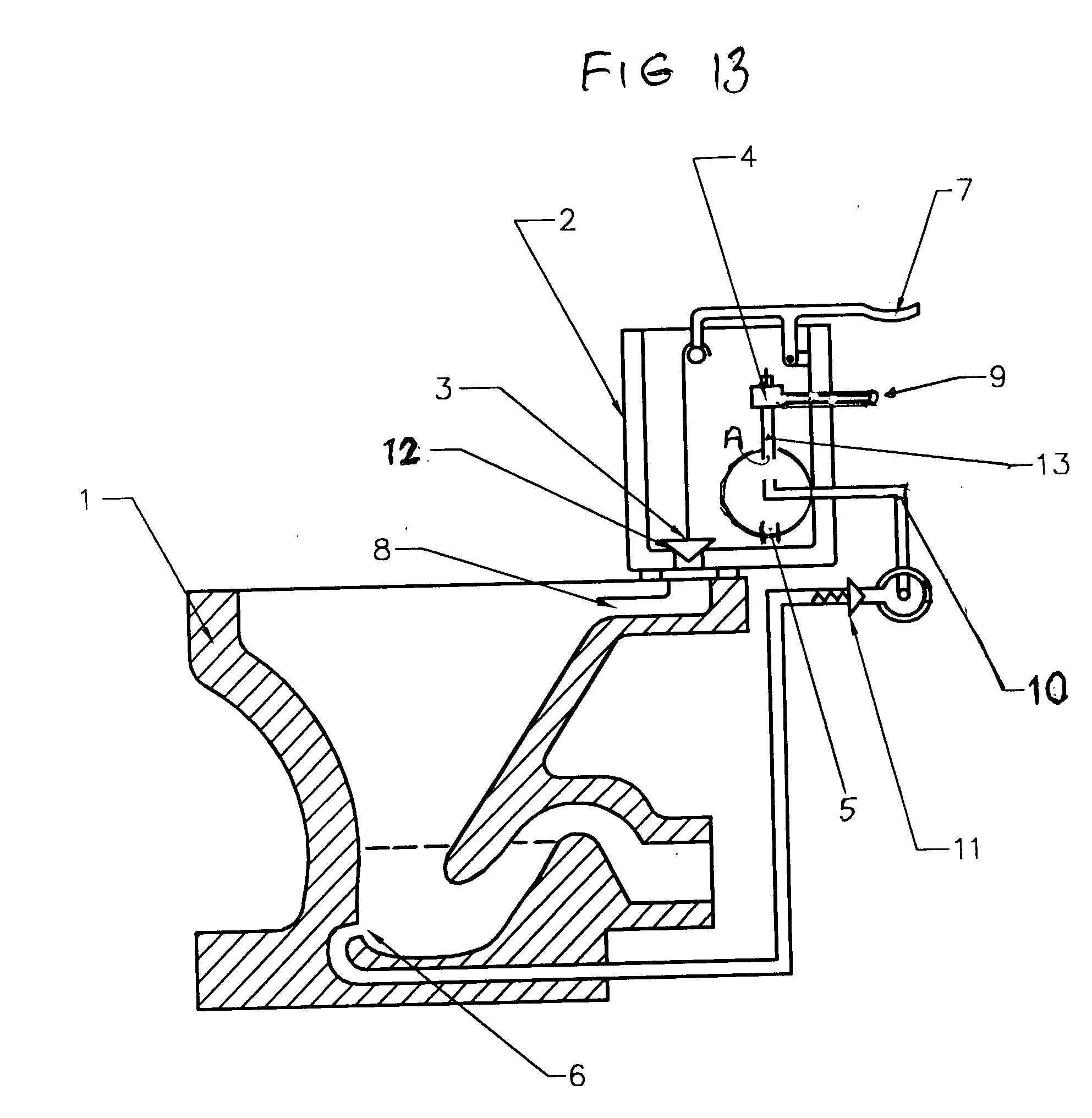 Patent us20050028263 water and space conservation toiletbidet us20050028263a1 20050210 d00012 us20050028263 tear drop toilet plunger diagram