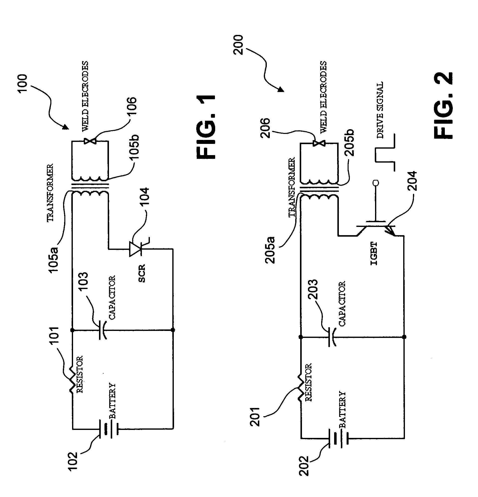 Capacitive Discharge Welder Wiring Diagram