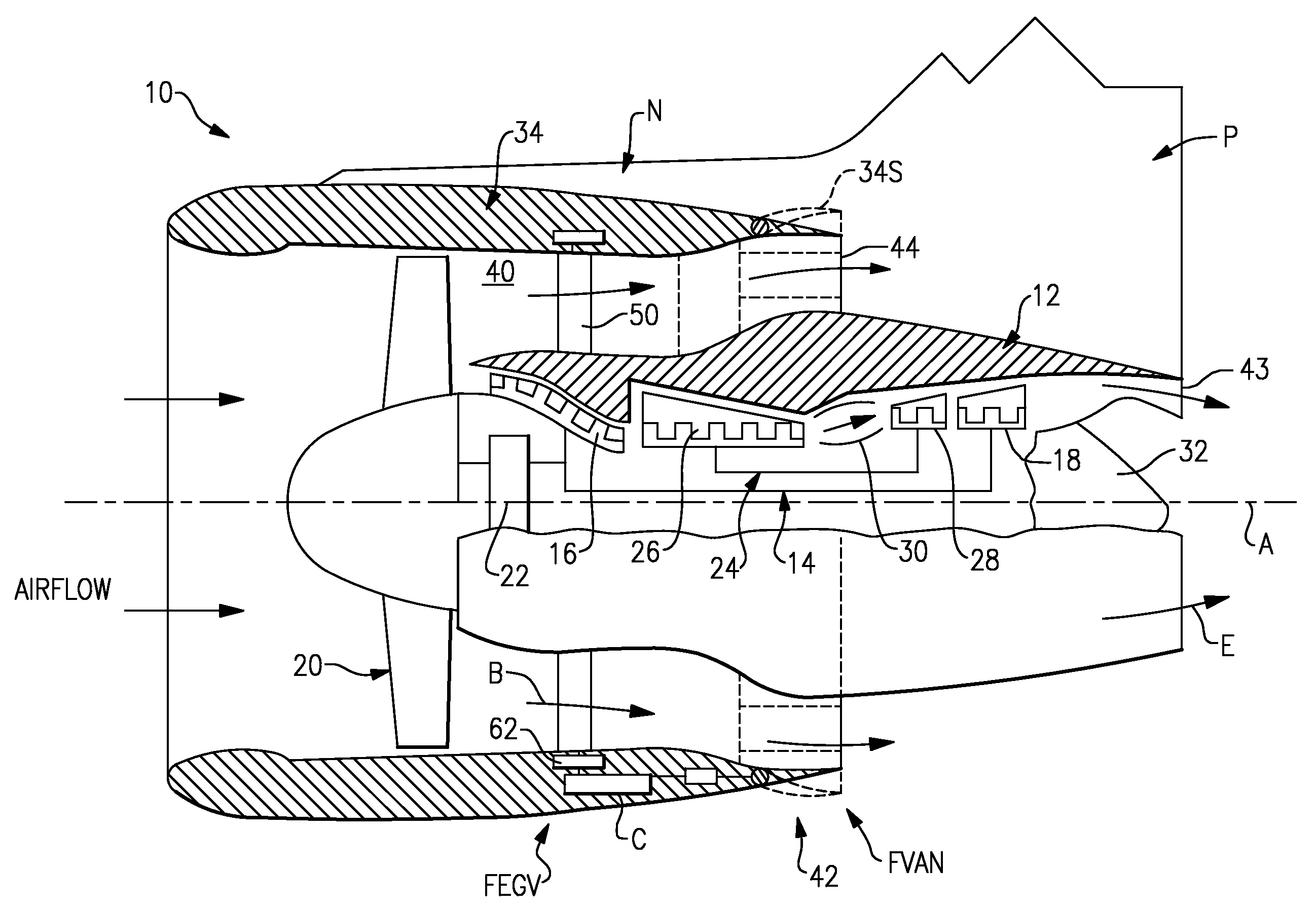 B 52h Turbofan Jet Engines